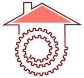 House work logo Stock Image