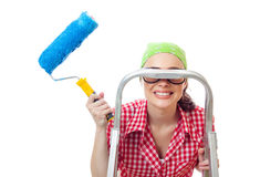 House worker woman Stock Photos