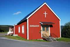 House of worship. A wood simple building is place of worship Stock Photos