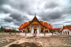 House of worship, Thai temple (HDR) Stock Images