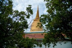 House of worship to pray for Buddhism. And very attractive for tourist Royalty Free Stock Images