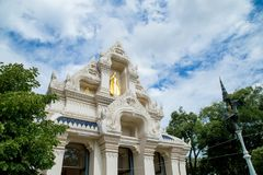 House of worship to pray for Buddhism. And very attractive for tourist Stock Images