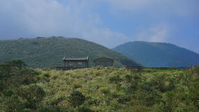 This house on yangmingshan nation park. stock photography