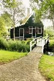 House in Zaanse Schans Royalty Free Stock Image