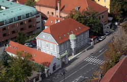 House in Zagreb Royalty Free Stock Photography