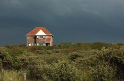House on Zeeland, the Netherlands Stock Images