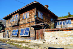 House in Zheravna. Old-fashioned house in village Zheravna(Bulgaria stock photo