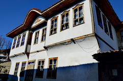 House in Zheravna. Old-fashioned house in village Zheravna(Bulgaria royalty free stock images