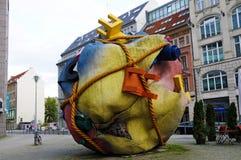 Houseball à la place Berlin de Bethlehemkirch Images libres de droits