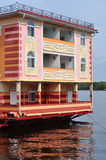 houseboat Royaltyfria Foton