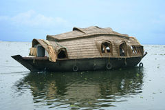 houseboat Royaltyfria Bilder
