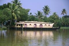 houseboat Arkivbilder