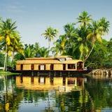 houseboat Lizenzfreies Stockfoto