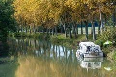 houseboat lizenzfreies stockbild