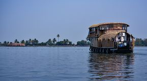 Houseboat. Awesome houseboat stay, Heaven on the earth beutifull Kerala India stock photos
