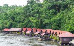 Houseboat At Kwai River. Royalty Free Stock Photography