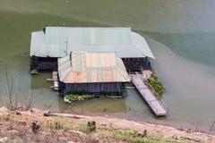 Houseboat in Mae Ngad dam, Chiangmai Thailand Stock Image