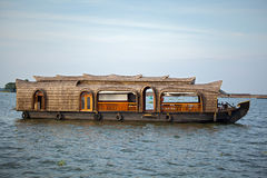 Houseboat resort Royalty Free Stock Photos