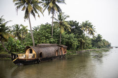 Houseboat Ride in Kottayam Stock Images