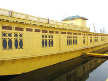 Houseboat-Srinagar ,Kashmir Royalty Free Stock Images