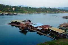 houseboat Thailand obraz royalty free