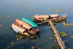 houseboats Κεράλα Στοκ Εικόνες