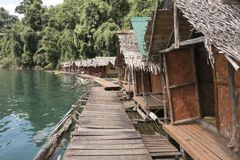 houseboats imagem de stock
