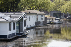 houseboats imagens de stock