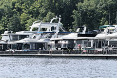 houseboats foto de stock