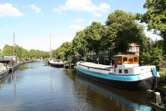 houseboats foto de stock royalty free
