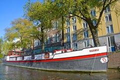 houseboats Fotografie Stock