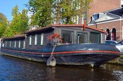 houseboats Royaltyfria Bilder