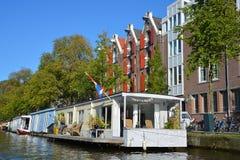 houseboats Fotografie Stock Libere da Diritti