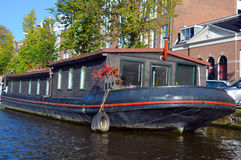 Houseboats Royalty Free Stock Images