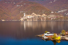 Houseboats, bulgaria Stock Photo