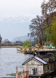 Houseboats, Dal Lake, Srinagar, Stock Photos