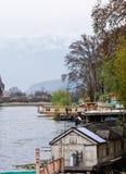 Houseboats, Dal Lake, Srinagar,. Houseboats at Dal Lake , Srinagar, Kashmir, India stock photos