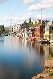 Houseboats royalty free stock photos