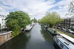 Houseboats, Little Venice, London Stock Photo