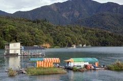 Houseboats, Taiwan Stock Image