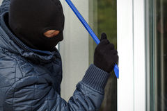 Free Housebreaker Openning The Window Royalty Free Stock Images - 35381269