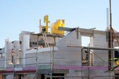 housebuilding Immagine Stock Libera da Diritti