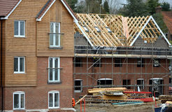 Housebuilding Stock Photography