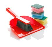 Housecleaning items Stock Photography