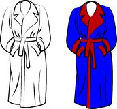 Housecoat Stock Photography
