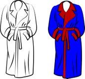 Housecoat ilustração do vetor