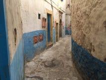Small street off Medina Marrakech, Royalty Free Stock Photo