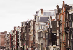Housefront in Amsterdam Royalty Free Stock Image