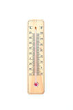 Household alcohol thermometer Celsius. Isolated on white background Stock Image