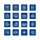 Household appliances icons set. Icons for on-line shop of household appliances Royalty Free Stock Image